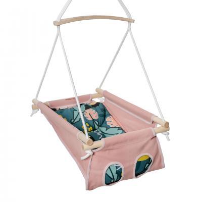 ADAMO bébihinta - Rózsaszín Trópusi